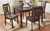 PIETRO COUNTER HEIGHT TABLE TOP 5 PC Set- D041-T