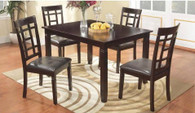 SIMONE COUNTER HEIGHT TABLE TOP 5 PC Set - D045-T