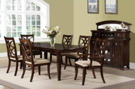 DOMENICO DINING TABLE TOP 7 PC Set  D777A-T