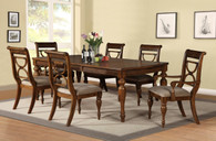 RAFFAELE DINING TABLE TOP 7 PC Set - D888-T