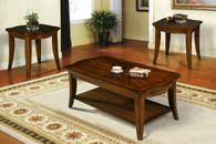 Jackson Coffee & End Table 3 PC Set - CT404-T