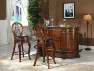 Joseph Bar Table & Bar Stool 3 PC Set - L9007-BT