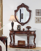 Hunter Mirror & Console Table 2 PC Set - CT008M