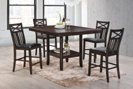 Meghan Counter Height Table Top 5 PC Set - 2710