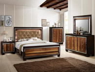 B4275 EMILY BEDROOM SET GREY COLLECTION by Crown Mark