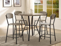 BLAKE 5-PK ROUND COUNTER HEIGHT DINETTE