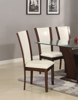 CAMELIA SIDE CHAIR WHITE 2 PCS SET-1210S/WH