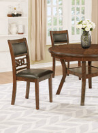 CALLY SIDE CHAIR 2 PCS SET-2216/S