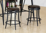 DAVID COUNTER HEIGHT SWIVEL STOOL 2 PCS SET-2809S/24