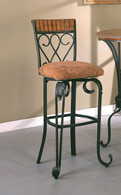 "Aseem Alyssa 29"" Swivel Barstool Set of 2 PCS-2980C/N/ASSE"