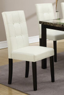WHITE DINING CHAIR 2 PCS SET-F1083