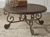MATTEO BROWN COFFEE TABLE-T382
