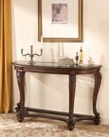 GABRIELE GLASS TOP SOFA TABLE-T499-SOFA