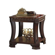 STEFANO BROWN END TABLE-T705-END