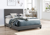 ERIN COMPLETE BED PU GREY-5271PUGY
