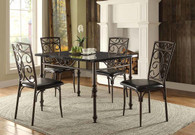 DRYDEN COLLECTION DINING TABLE 5 PCS SET-5268