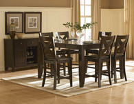CROWN POINT COUNTER HEIGHT TABLE 5 PCS SET-1372