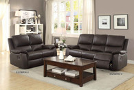 GREELEY RECLINING SOFA AND LOVE SEAT 2 PCS SET-8325BRW