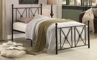 MARDELLE COLLECTION METAL PLATFORM BED-2047TBK