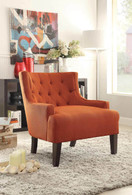 DULCE ACCENT CHAIR ORANGE-1233RN