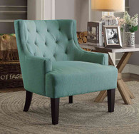 DULCE ACCENT CHAIR TEAL-1233TL
