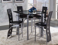 SONA COUNTER HEIGHT TABLE 5 PCS SET-5532