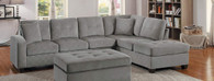 EMILIO REVERSIBLE SECTIONAL TAUPE FABRIC-8367TP