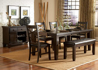 HAWN COLLECTION DINING TABLE 5 PCS SET-2438