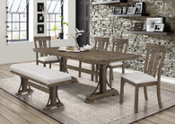 QUINCY DINING TABLE 5 PIECE SET-2131T-4079
