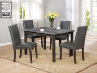 POMPEI DINING TABLE 5 PIECE SET-2377GY