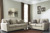 CALICHO ECRU COLLECTION SOFA AND LOVE SEAT 2 PCS SET-91203-38-35