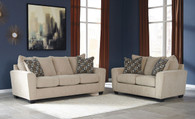 WIXON PUTTY COLLECTION SOFA AND LOVE SEAT 2 PCS SET-57003-38-35