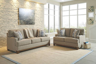 HILLSWAY PEBBLE COLLECTION SOFA AND LOVE SEAT 2 PCS SET-34104-38-35