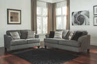 GAYLER BLACK COLLECTION SOFA AND LOVE SEAT 2 PCS SET-41201-38-35