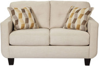 DRASCO MARBLE COLLECTION SOFA AND LOVE SEAT 2 PCS SET-59802-38-35
