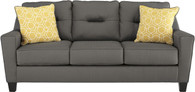 FORSAN NUVELLA GRAY COLLECTION QUEEN SOFA SLEEPER-66902-39