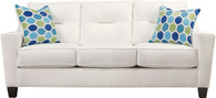 FORSAN NUVELLA WHITE COLLECTION QUEEN SOFA SLEEPER-66904-39