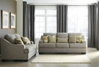 MANDEE PEWTER COLLECTION SOFA AND LOVE SEAT 2 PCS SET-93404-38-35