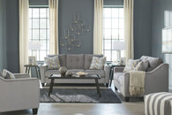 BIZZY SMOKE COLLECTION SOFA AND LOVE SEAT 2 PCS SET-69503-38-35