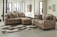 ALTURO DUNE COLLECTION SOFA CHAISE AND LOVE SEAT 2 PCS SET-60003-38-35