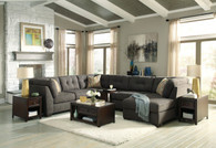 DELTA CITY STEEL COLLECTION SECTIONAL SET-19700-16-34-38