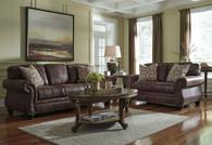 BREVILLE ESPRESSO COLLECTION SOFA AND LOVE SEAT 2 PCS SET-80003-38-35