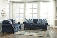LAVERNIA NAVY COLLECTION SOFA AND LOVE SEAT 2 PCS SET-71304-38-35
