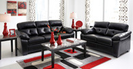 BASTROP DURABLEND®* MIDNIGHT COLLECTION SOFA AND LOVE SEAT 2 PCS SET-44601-38-35