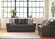 COPPELL DURABLEND®* CHOCOLATE COLLECTION SOFA AND LOVE SEAT 2 PCS SET-59001-38-35