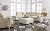 KIRWIN NUVELLA SAND COLLECTION SECTIONAL SET-99605-66-17