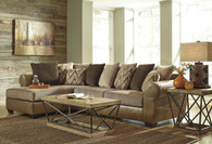 DECLAIN SAND COLLECTION SECTIONAL SET-86302-66-17