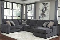 TRACLING SLATE COLLECTION SECTIONAL SET-72600-17-34-66