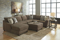 JUSTYNA TEAK COLLECTION SECTIONAL SET-89102-17-34-66