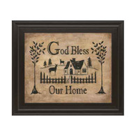 GOD BLESS OUR HOME BY DONNA ATKINS 22x26